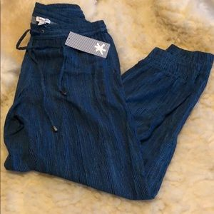 Splendid Blue Jogger Pants Sz S **NWT**